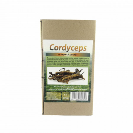 Ciuperci Cordyceps pulbere, 100g