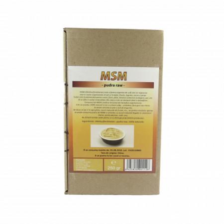 MSM - metilsulfonilmetan pudra, 250g