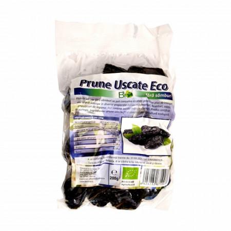 Prune uscate Eco Bio, fara samburi, 200g