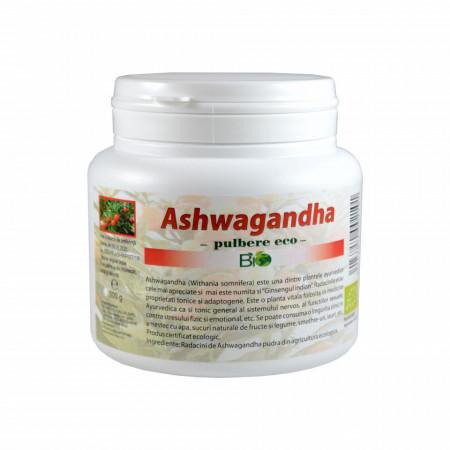 Ashwagandha pudra (ashwaganda), pulbere Bio Eco 200g