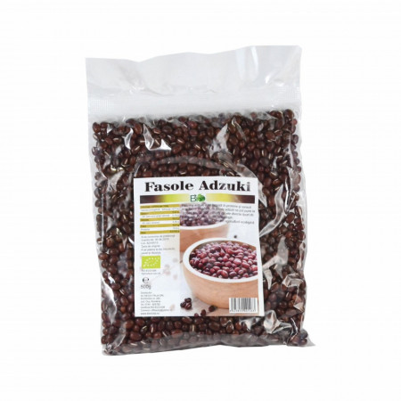 Fasole azuki (adzuki) Bio 500g