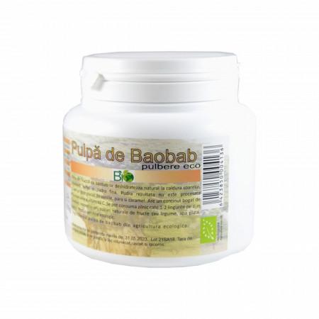 Pulpa de Baobab pudra, BIO 200g
