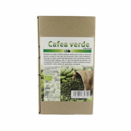 Cafea verde macinata, BIO ECO 250g