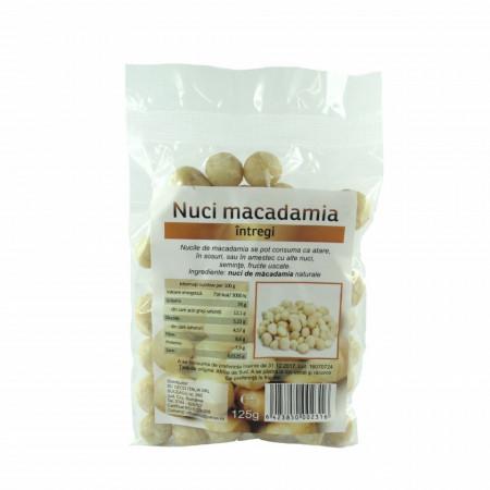 Nuci macadamia, 125g