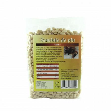 Seminte de pin, RAW 100 g