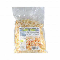 Chipsuri prajite din nuci de cocos, BIO 250g