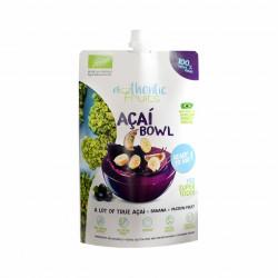 Piure din fructe fara gluten, fara zahar, Acai Bowl Eco Bio 250g