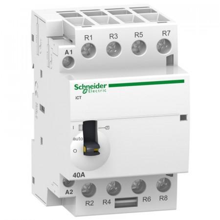 Contactor modular Schneider A9C20868 - ICT 63A 4Ni 220/240V 50Hz