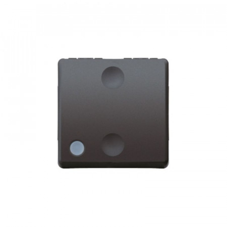 Intrerupator Gewiss GW21580 System - Intrerupator cap cruce cu led 2M Negru