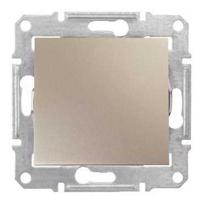 Intrerupator Schnedier SDN0100368 Sedna - Intrerupator simplu, IP44, 10 AX - 250 V titan