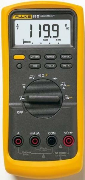 Multimetru Fluke FLUKE 83-V/EUR - Average Responding Industrial Multimeter
