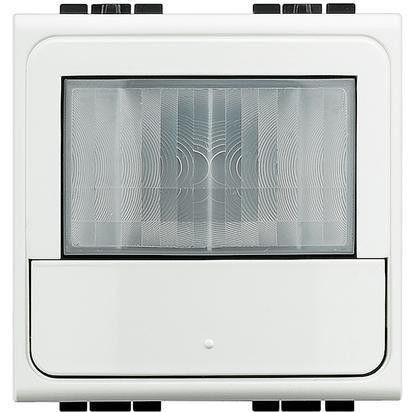 Senzor miscare Bticino N4434N Living Light - Senzor de miscare, 2.5A, 2M, alb