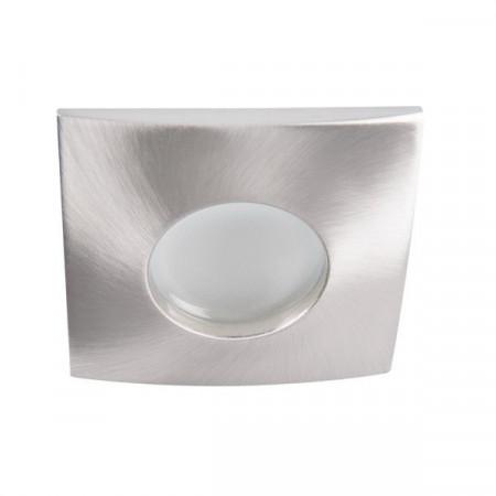 Spot Kanlux 26301 QULES - Spot fix, etans, incastrat, LED, GU10, max 35W, IP 44, inox periat