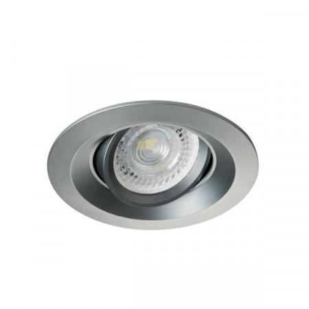 Spot Kanlux 26744 COLIE DTO - Inel spot directional incastrat LED GU10, max 35W, IP 20, gri