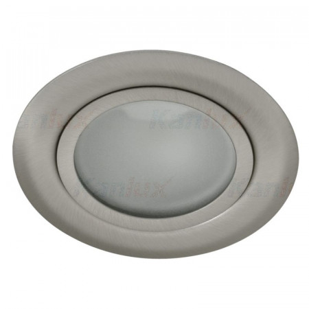 Spot Kanlux GAVI LED 19761 - Spot LED, 12V DC, 0,8W, IP20, 2800-3000k, argintiu