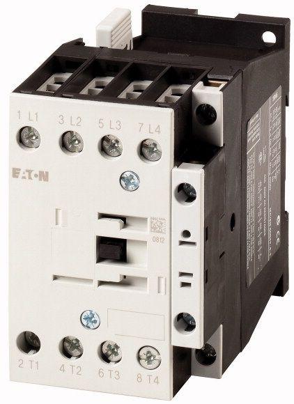 Contactor Eaton 109811 - Contactor putere DILMP32-10(RDC24)-Contactor-4poli 32A, regim AC-3
