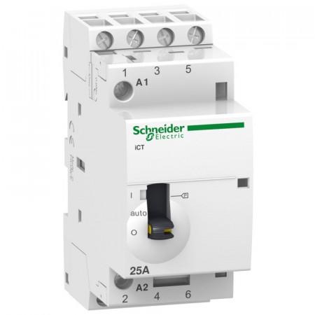 Contactor modular Schneider A9C21834 - ICT 25A 4Nd 220/240V 50Hz