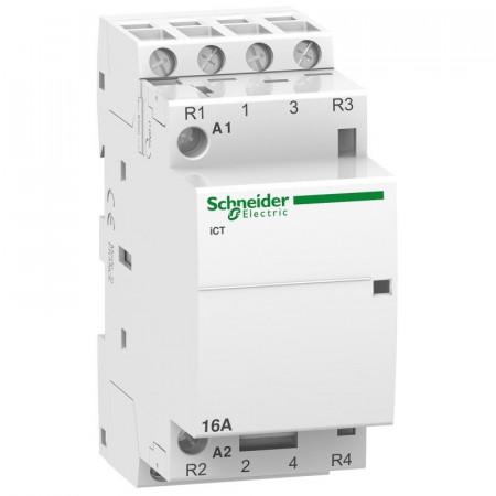 Contactor modular Schneider A9C22114 - iCT 16A 4Nd 24V 50Hz