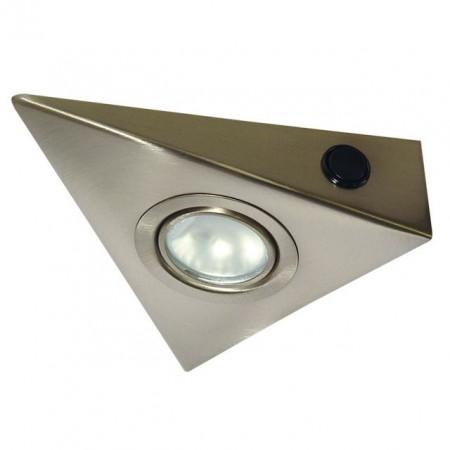 Corp iluminat Kanlux 4386 ZEPO - Spot LFD-T02/S-C/M cu intrerupator, G4, max 20W, 12V, IP20, inox