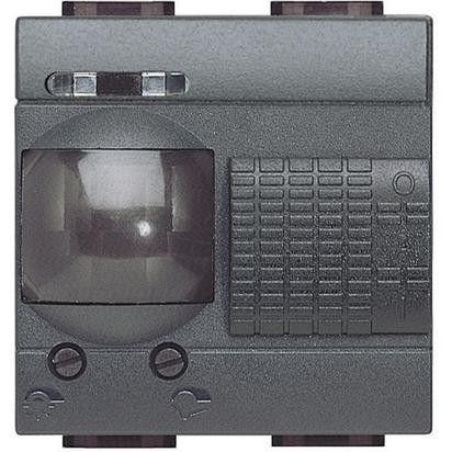 Senzor miscare Bticino L4432/127 Living Light - Senzor de miscare, 110V, 2A, 2M, negru