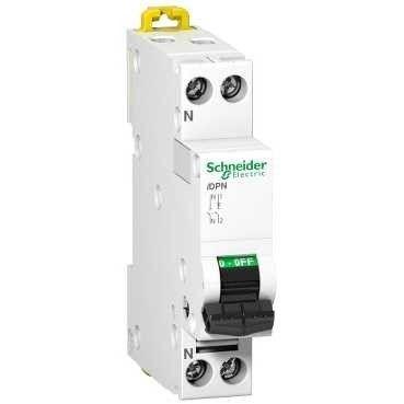 Siguranta automata Schneider A9N21550 - DISJUNCTOR IDPN 1P-N 32A C 4500A kA 230V