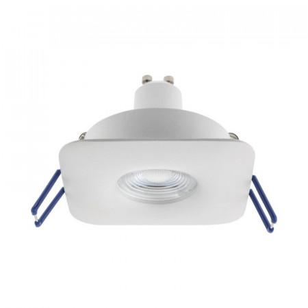 Spot Arelux XCover CV02 MWH - XCOVER SQUARE FIX GU10 IP20 MWH, alb