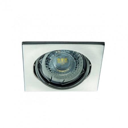 Spot Kanlux 26734 ALOR-DTL - Inel spot directional incastrat LED GU10, max 35W, IP 20, inox periat