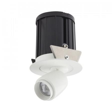 Spot LED Arelux XMicro Recessed MC02NW MWH - Corp iluminat cu LED 3W 700mA 4000K 36grd. MWH (5f), alb