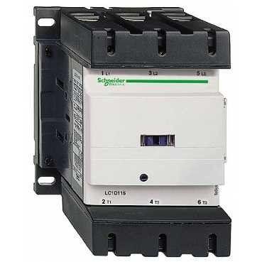 Contactor Schnedier LC1D115D5 - Contactor putere