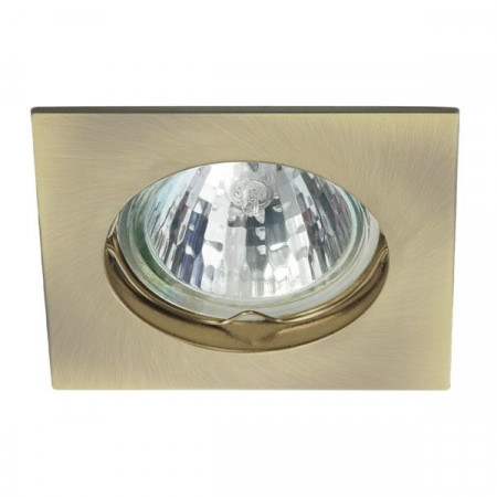 Corp iluminat Kanlux 4693 NAVI CTX-DS10-SN - Spot incastrat, Gx5,3, max 50W, 12V, IP20, alama mata