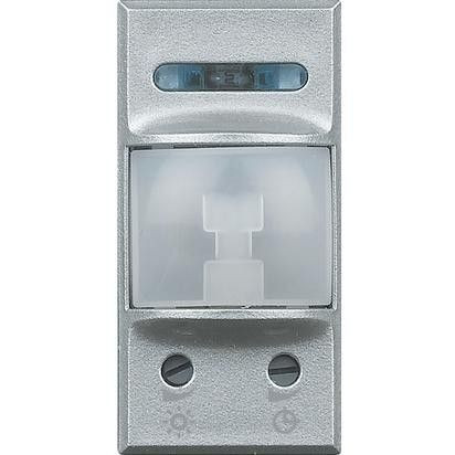 Senzor miscare Bticino HC4431 Axolute - Senzor infrarosu, 1M, 230V, 2A, argintiu