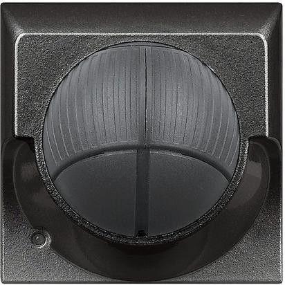 Senzor miscare Bticino HS4611 Axolute - Senzor infrarosu pasiv cu detectie volumetrica , 2M, raza de actiune 8m, 230V, 2A, negru