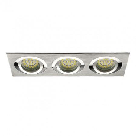 Spot Kanlux 18283 SEIDY - Spot dublu directional, incastrat, Gx5,3, 12V , 3 x max 50W, IP20, aluminium