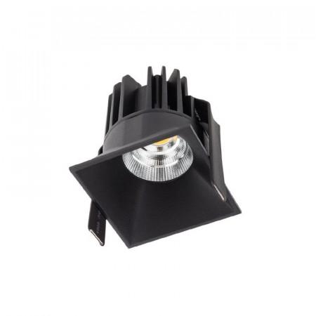 Spot Led Arelux XDomino DM02NW36 BK - Corp iluminat cu led 9W 500mA 36grd. 4000K IP20 BK (5f), negru