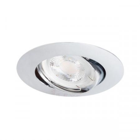 Corp iluminat Kanlux 2591 LUTO CTX-DT - Spot incastrat directional, Gx5,3, max 50W, 12V, IP20, crom