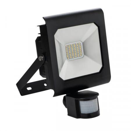 Proiector LED Kanlux 25706 ANTRA - Proiector cu senzor miscare, 30W, 4000k, IP44, negru