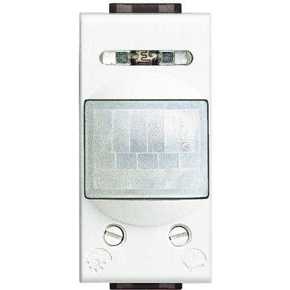 Senzor miscare Bticino N4431 Living Light - Senzor de miscare, 2A, 1M, alb