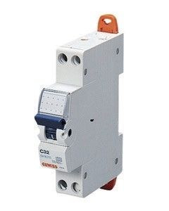 Siguranta automata Gewiss GW90047 - DISJUNCTOR COMPACT MCB 2P 16A 4,5KA C 1M