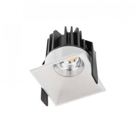 Spot Led Arelux XDomino DM01WW50 MWH - Corp iluminat cu led 15W 700mA 50grd. 3000K IP20 MWH (5f), alb