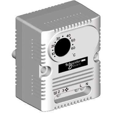 Termostate Schnedier NSYCCOTHI - Thermostat w/Invers Contact (ºC)