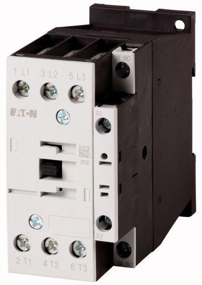 Contactor Eaton 277020 - Contactor putere DILM17-10(RDC130)-Contactor 7,5KW, regim AC-3