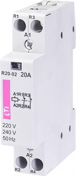 Contactor modular Eti 2461230 - R20 02 230V