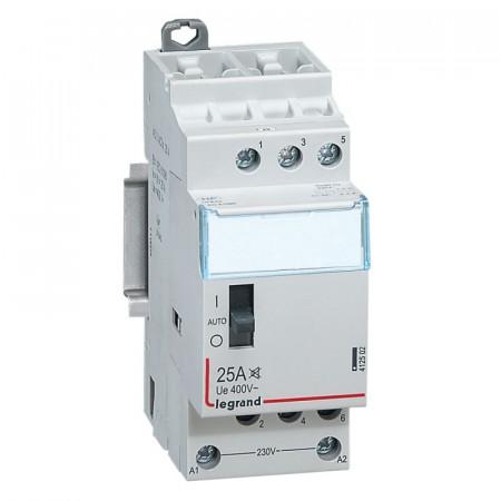 Contactor modular Legrand 412502 - Contactor CX3 CT HC 230V 3F 25A