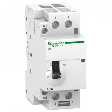 Contactor modular Schneider A9C21862 - ICT 63A 2Nd 220/240V 50Hz