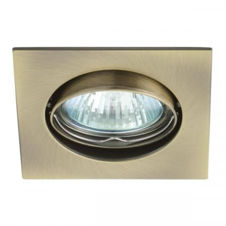 Corp iluminat Kanlux 2554 NAVI CTX-DT10 - Spot incastrat, Gx5,3, max 50W, 12V, IP20, crom mat