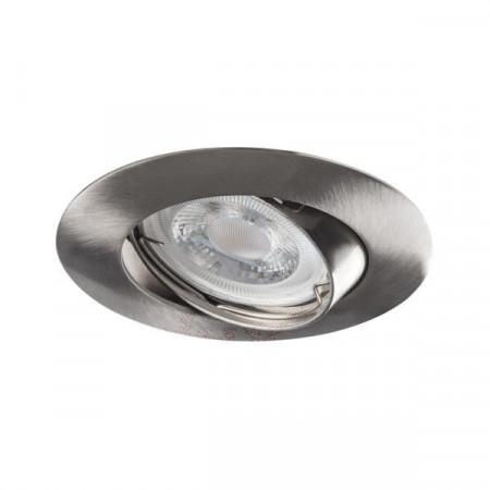 Corp iluminat Kanlux 2593 LUTO CTX-DT - Spot incastrat directional, Gx5,3, max 50W, 12V, IP20, crom mat