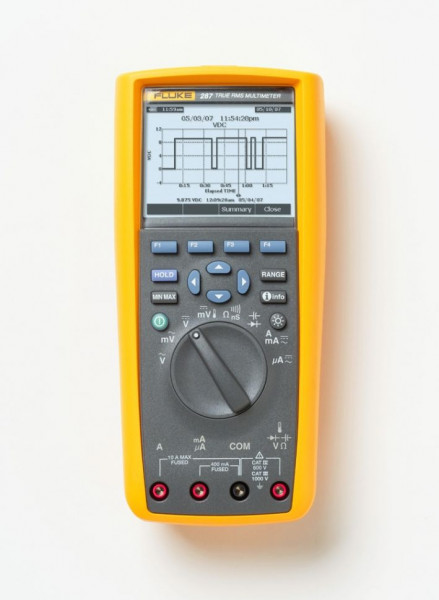 Multimetru Fluke FLUKE 287/FVF/EUR - Kit multimetru TRMS AC+DC cu View Forms