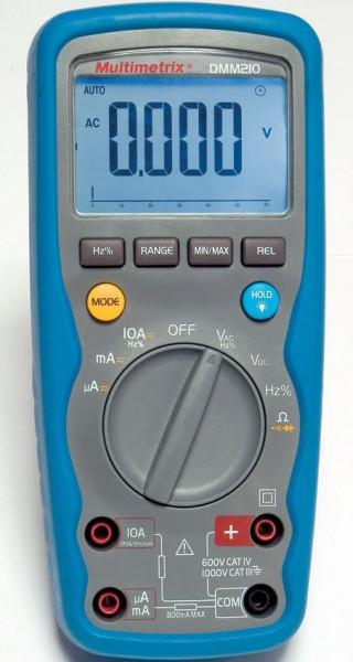Multimetru Multimetrix DMM 210 - Multimetru industrial 6.000-puncte 600V CAT IV IP67