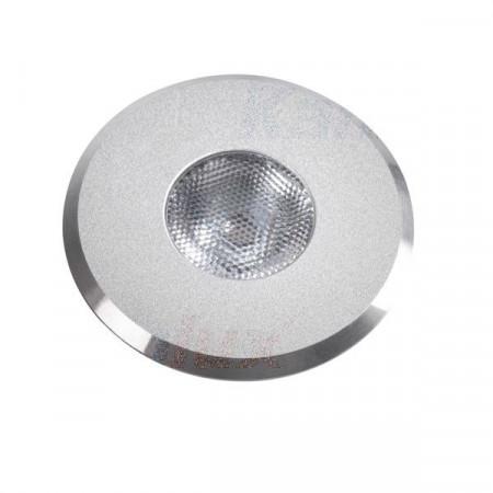 Spot Kanlux 8103 HAXA-DSO - Spot led, 1W, 300k, IP20, argintiu