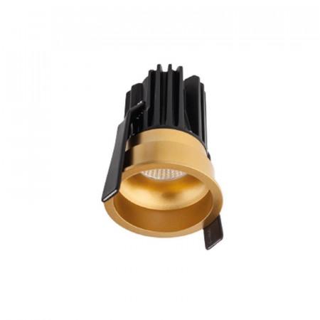 Spot LED Arelux XClub CU01NW36 GD - Corp LED 1x7W 4000K 350mA 36grd. IP20 GD (5f) auriu